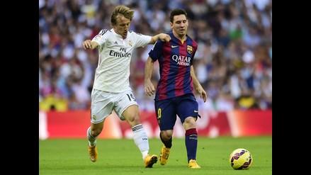 Luka Modric afirma que ante Barcelona se pudo ver al mejor Real Madrid