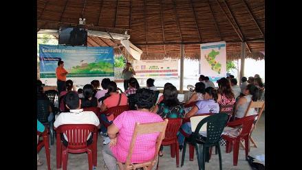 Indígenas asisten a taller sobre Ley Forestal en Lamas