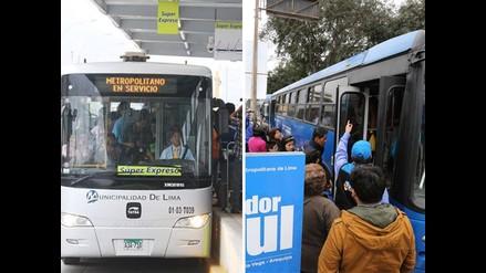 Metropolitano y Corredor Azul cambiarán recorrido mañana por procesión