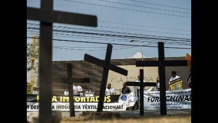 Brasil: sector textil protestó contra importaciones de China