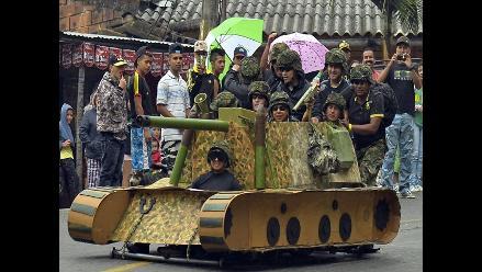 Colombia: lo mejor del XXV Festival de carros de rodillos en Medellín