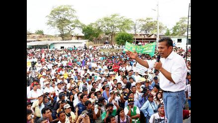 Humala recordó 14 años del levantamiento contra expresidente Fujimori