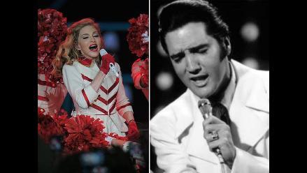 Subastan vestidos de Madonna y guitarras de U2 y Elvis Presley