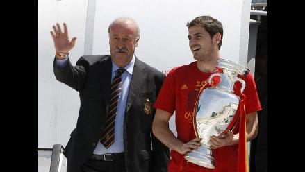 Del Bosque dice que todavía confía mucho en Iker Casillas