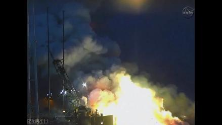 Explosión de cohete causó alarma en instalaciones de la NASA