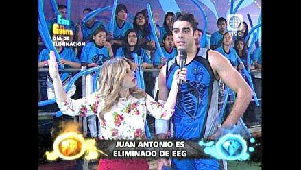 EEG: Juan Antonio Peña e Ike Parodi quedan fuera del final de apertura