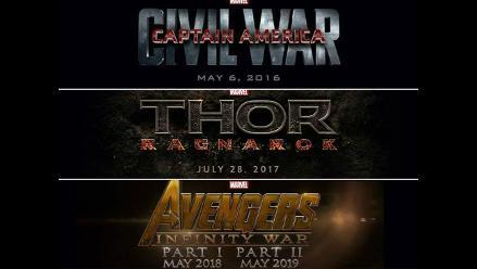 Marvel: Entérate de los próximos lanzamientos de películas de superhéroes