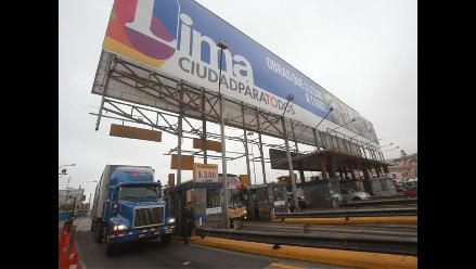Tarifa de peajes en Panamericana Norte y Sur subirá en S/. 0. 50