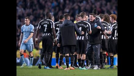 Manchester City eliminado de la Copa de la Liga 0-2 ante Newcastle