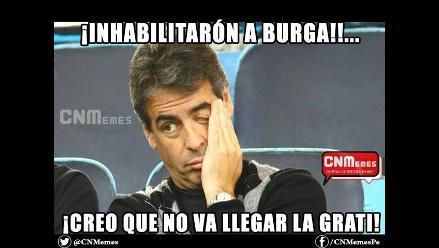 Cibernautas crean divertidos memes por inhabilitación de Manuel Burga
