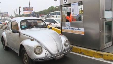 Rutas de Lima: aumento del peaje de livianos llegará a S/. 4.50 en 2017
