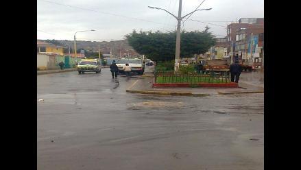 Arequipa: deficiencia de lluvias llegó al 5% en octubre