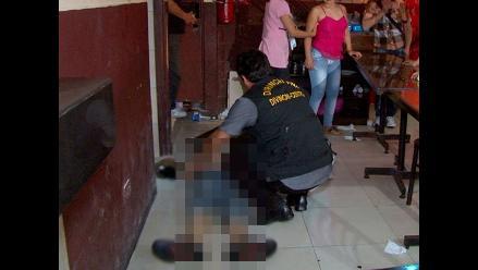 San Miguel: asesinan a balazos a hombre en local de comida rápida