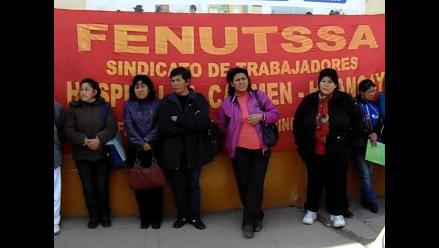 Huancayo: asistenciales anuncian protestas en Lima