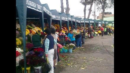 Ica: incrementa el precio de las flores por el Día de los Santos