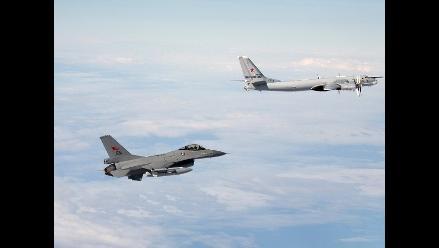 Aviones británicos interceptaron nave rusa en espacio aéreo del R.Unido