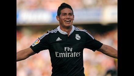 James Rodríguez y el golazo que convirtió en el Real Madrid vs. Granada