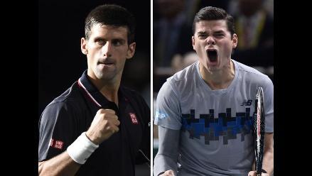 Novak Djokovic y Raonic disputarán el título del Masters 1.000 de París