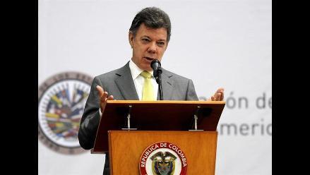 Juan Manuel Santos destaca énfasis del Parlamento Andino en paz regional