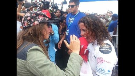 Sofía Mulanovich: Analí Gómez es lo máximo y se merecía el Mundial ISA