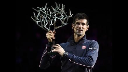 Djokovic venció a Raonic y se adjudicó el Masters de París