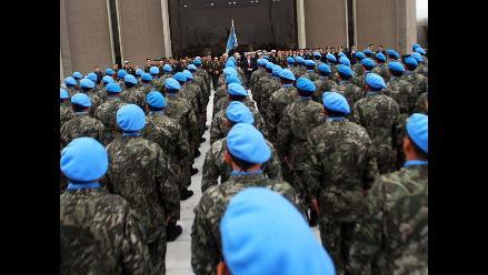 Soldados peruanos en misiones de paz serán sometidos a descarte de ébola