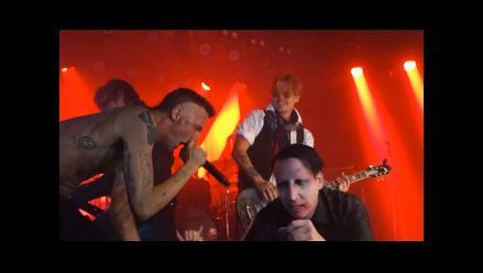 Marilyn Manson reúne a Johnny Depp y Die Antwoord por Halloween