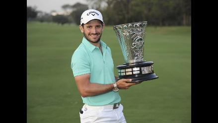 Golf: Argentino Julián Etulaín campeonó el Lexus Perú Open 2014