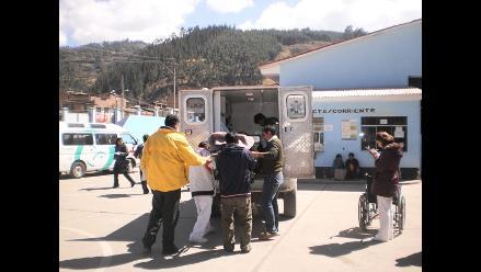 Vuelco de ómnibus deja 36 heridos en ruta Tacna-Tarata
