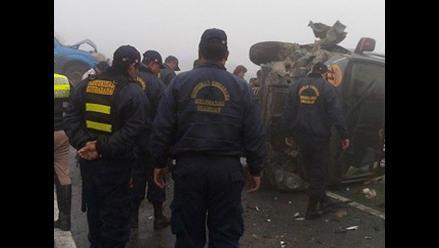 Accidente de tránsito deja 11 heridos en Arequipa