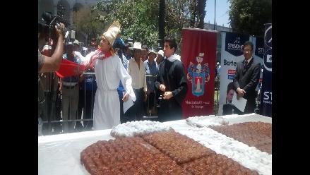 Arequipa: población participa en tradicional bautizo de wawa