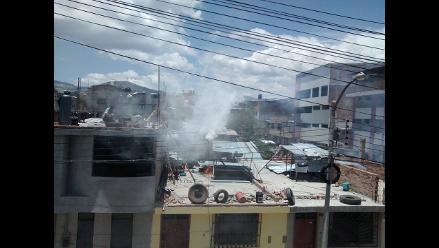 Cajamarca: a golpes terminó anuncio de movilización para exigir justicia