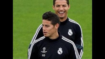 Cristiano Ronaldo celebra tras