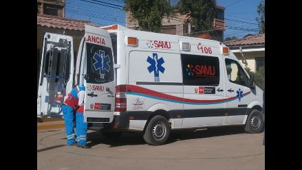 Huancavelica: cinco heridos dejó accidente de tránsito