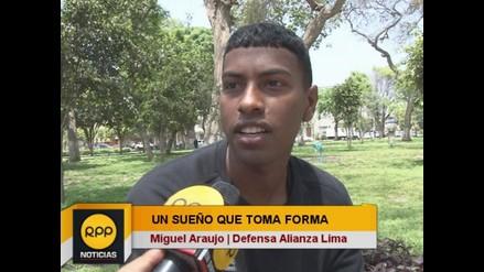 Miguel Araujo: Desde niño me propuse salir campeón con Alianza Lima