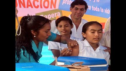 La Libertad: inmunizarán 14 mil niñas contra cáncer de cuello uterino