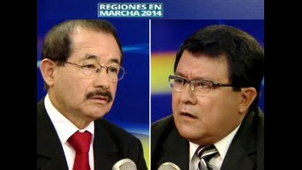 Regiones en Marcha 2014: candidatos de San Martín presentan propuestas