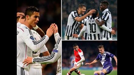 Champions League: Las imágenes que dejaron todos los partidos de la jornada