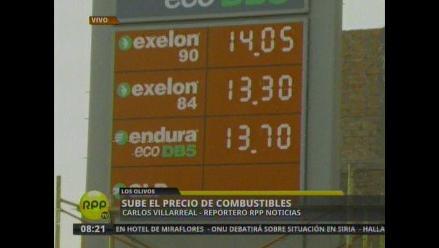 Huancayo: combustible y electricidad reportaron alza de 0.57 %