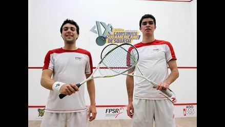 Perú: Diego Elías se coronó campeón de dobles del Sudamericano de Squash