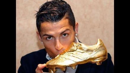 Cristiano Ronaldo ganó la Bota de Oro: Quiero ser el mejor de siempre