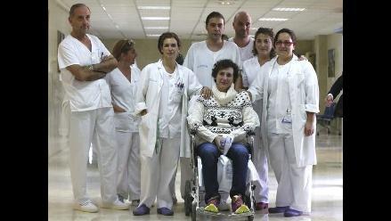 Enfermera infectada con ébola recibió alta tras su recuperación