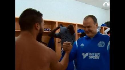 Para Bielsa con cariño: Mira el video que le dedicó Olympique Marsella