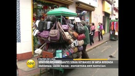 Expectativa en Mercado Central ante anunciado retiro de ambulantes