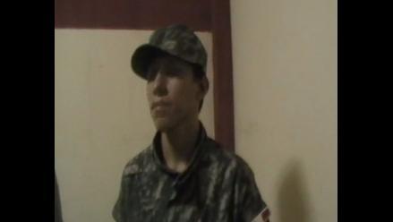 Tumbes: joven se viste de soldado para sorprender a su enamorada