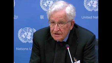 Noam Chomsky: EE.UU. es
