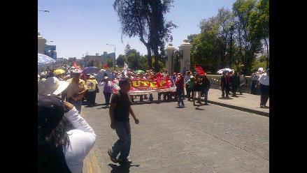 Arequipa: docentes exigen ampliación para presentar expedientes