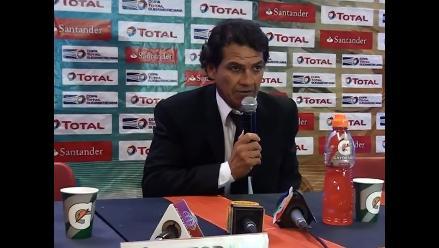 Franco Navarro: Tenemos que reconocer que este equipo dejó la vida en la cancha