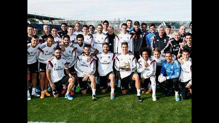 Cristiano Ronaldo compartió Bota de Oro con sus compañeros de Real Madrid
