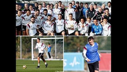 Así entrenó Real Madrid con expectativa por Bota de Oro de Cristiano Ronaldo